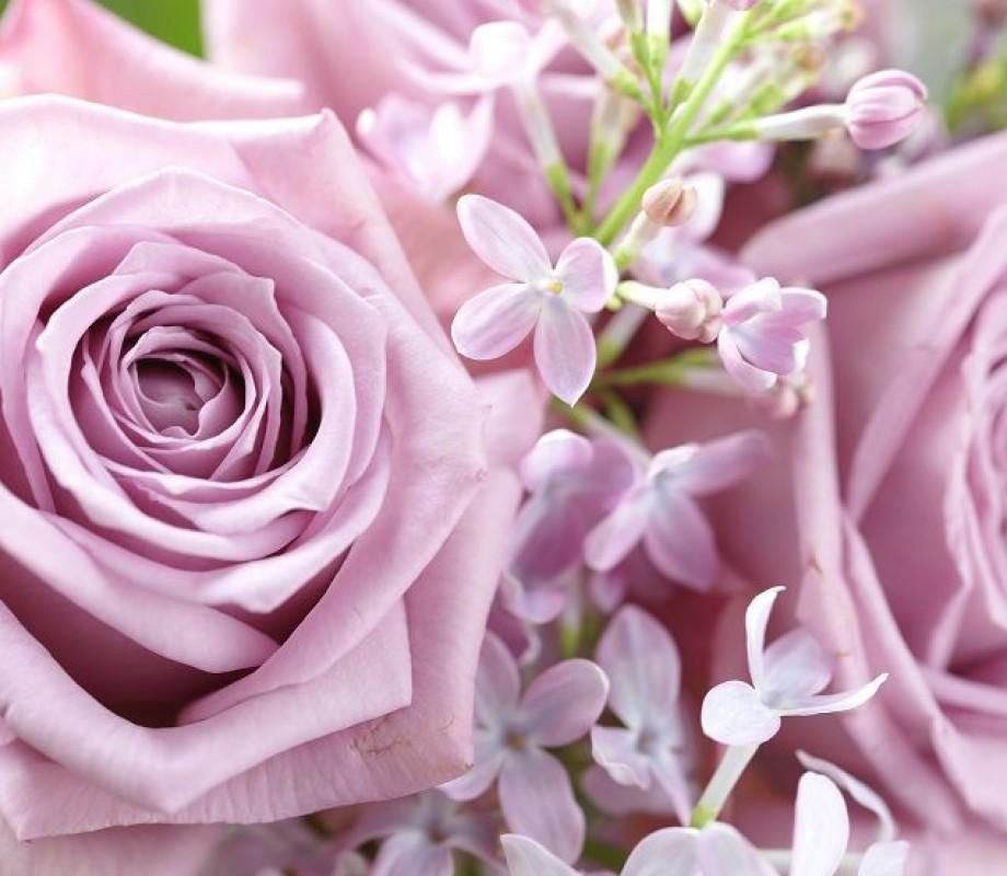 Нежный букет цветов