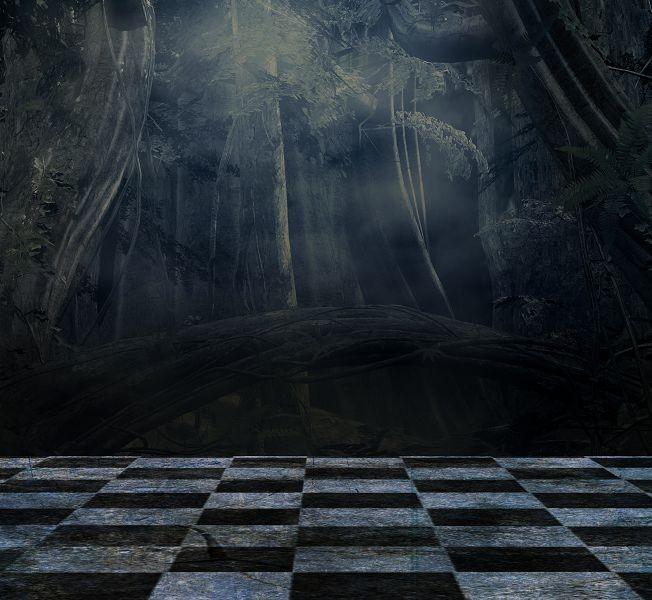Шахматный пол