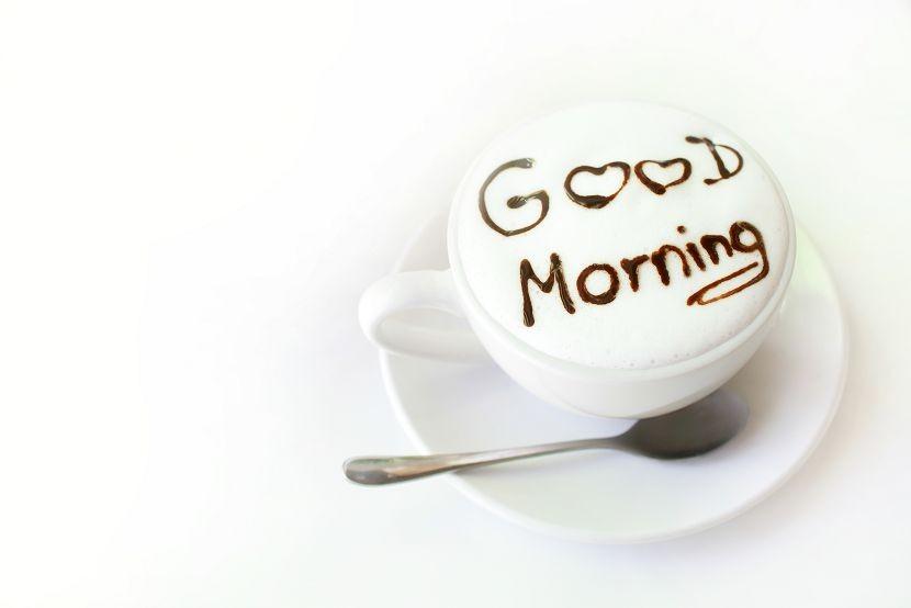 кофе, доброе утро