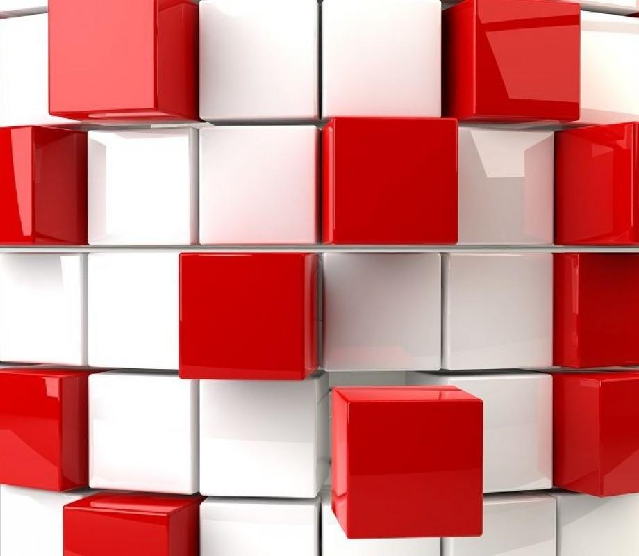 красные кубы