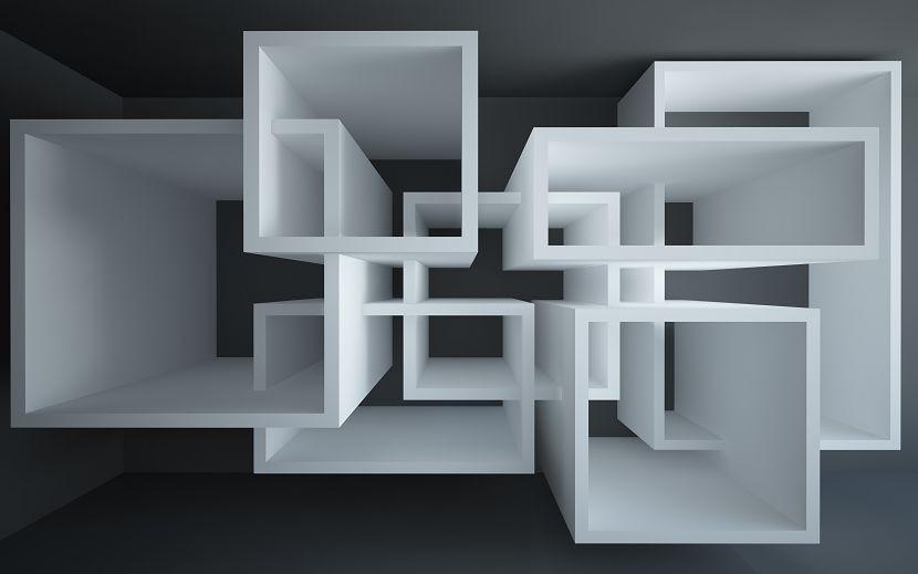трёхмерный лабиринт