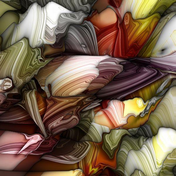 красочная абстрактная